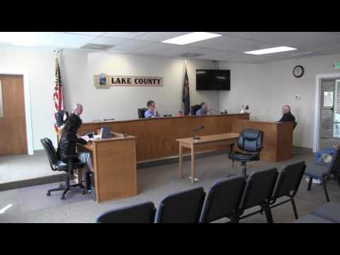 Lake County Commissioners regular session part two 5-17-2017