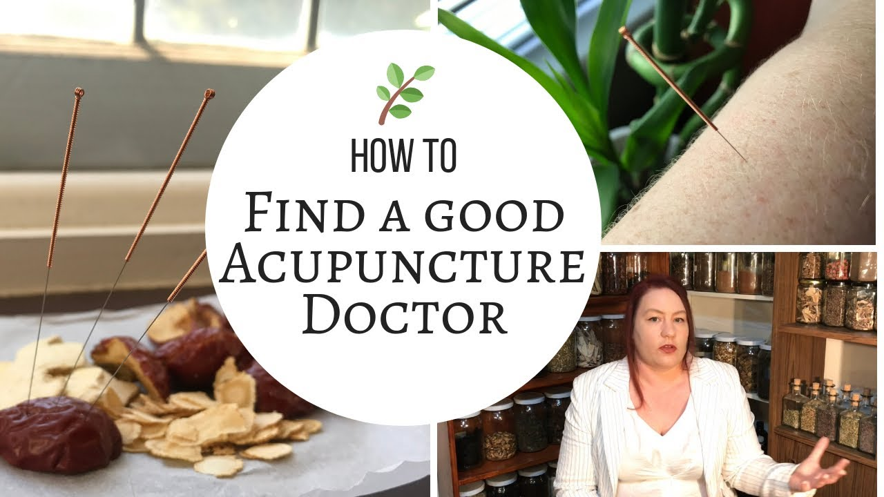 How to find a good Acupuncture doctor (Timestamped for ...