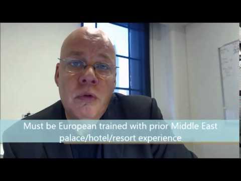 Executive Housekeeper-  Palace Complex- Qatar US$66-