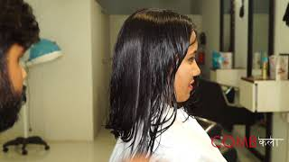 LONG to SHORT haircut by COMB कला
