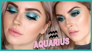AQUARIUS Makeup Tutorial ♒ ZODIAC SIGNS SERIES 💕