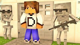 Minecraft - Industrial Craft: Esqueletos Seguranças