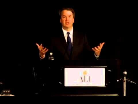 Remarks by Judge Brett Kavanaugh at the Opening Session of the ALI