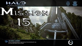 Halo 2 Anniversary - The Great Journey - Mission 15 (1080p60fps) Xbox One MCC