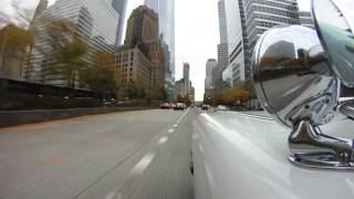 Ghostbusters Ecto-1 in New York City - (Part 1 of 2) - Halloween 2015