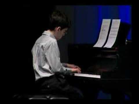 "Matt Savage plays ""Blues in 33-8"" at Kennedy Center"