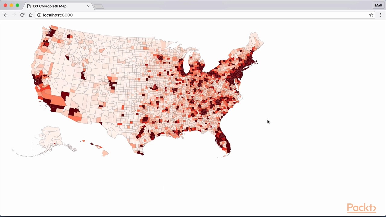 Building Data Visualizations with D3 and Angular 2 : The Course Overview|  packtpub com