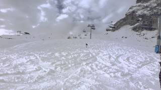 Powder Tumble in Val De Fassa.....Oh how we laughed!!!!!