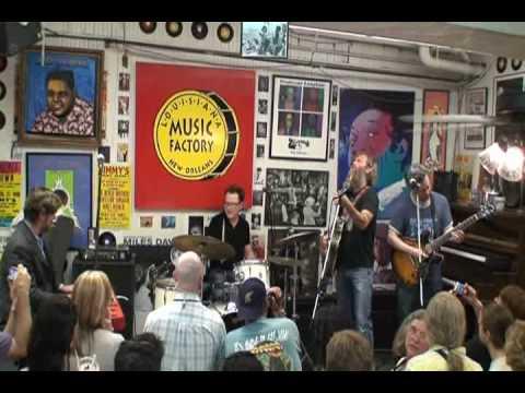 Stanton Moore Trio with Anders Osborne @ Louisiana Music Factory JazzFest 2010 - PT 1