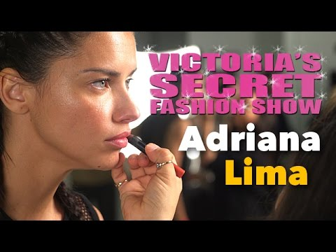 Adriana Lima Victoria's Secret Fashion Show 2016: How She Gets Ready