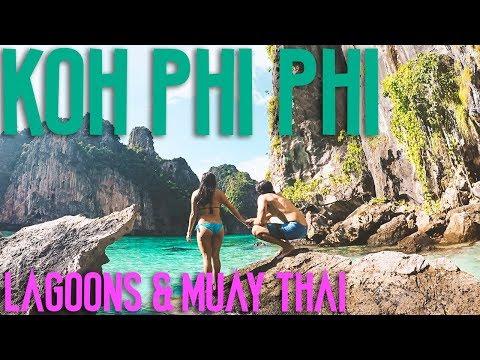 KO PHI PHI ISLANDS 2017 - ISLAND TOUR & MUAY THAI