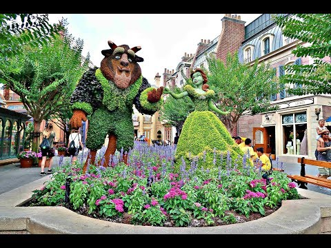 FLEPTING at the Epcot International Flower & Garden Festival 2017!