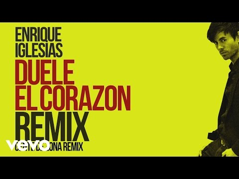 Enrique Iglesias - DUELE EL CORAZON ft. Gente de Zona, Wisin (Remix)[Lyric Video]