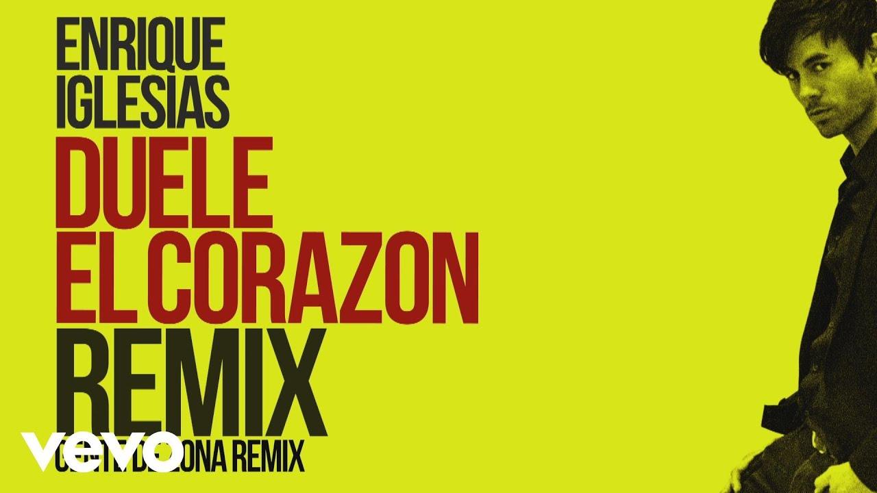 Download Enrique Iglesias - DUELE EL CORAZON (Remix)[Lyric Video] ft. Gente de Zona, Wisin
