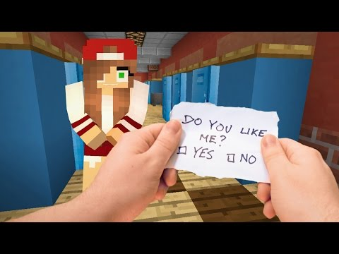 Thumbnail: Realistic Minecraft - Highschool Girlfriend ❤️️