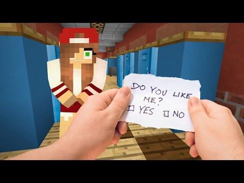 Realistic Minecraft - Highschool Girlfriend ❤️️