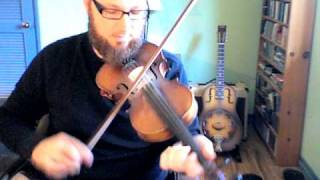 Old Time Fiddle Lesson--Old Bunch of Keys (1/2)