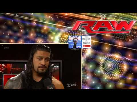 Download WWE Raw 7 August 2017 Full Show HD   WWE Monday Night Raw 8 7 17 Full Show This Week   YouTube