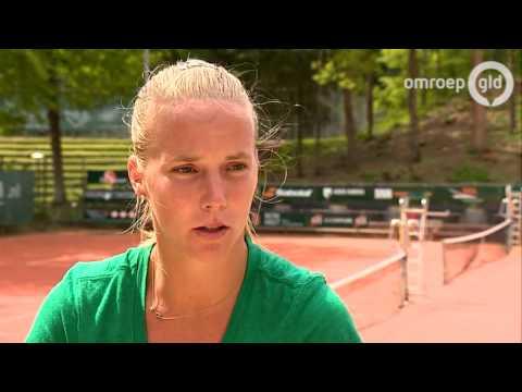 Richel Hogenkamp is klaar voor Roland Garros