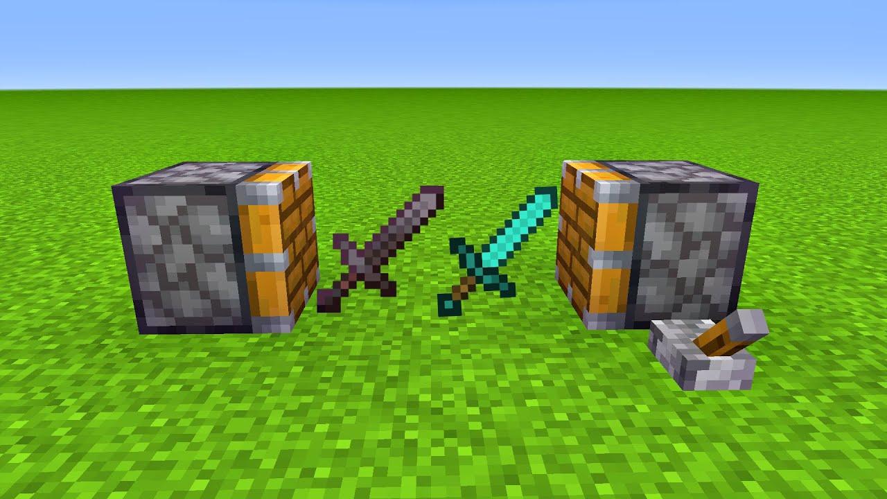 DIAMOND Sword + NETHERITE SWORD = ???