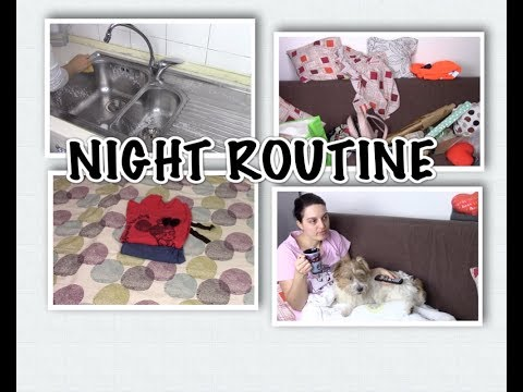 NIGHT ROUTINE | Fly Lady Italia