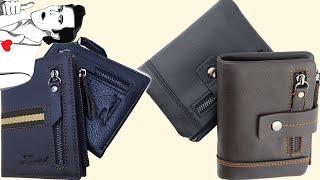 2 качественных кожаных портмоне и отличный кошелек | алиэкспресс обзор