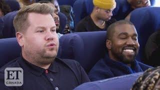 Kanye West 'Airpool Karaoke' With James Corden