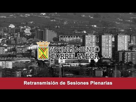 Sesion Plenaria Ordinaria Ayuntamiento de Torrelavega