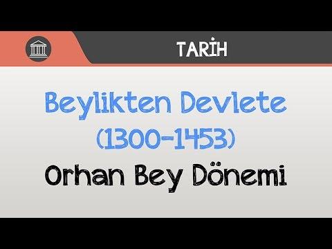 Beylikten Devlete (1300-1453) - Orhan Bey Dönemi