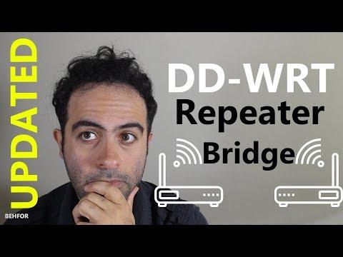 [HOWTO] Setup DD-WRT Repeater Bridge (UPDATED)