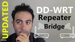 [HOWTO] Installation de DD-WRT Pont Répéteur (mise à JOUR)