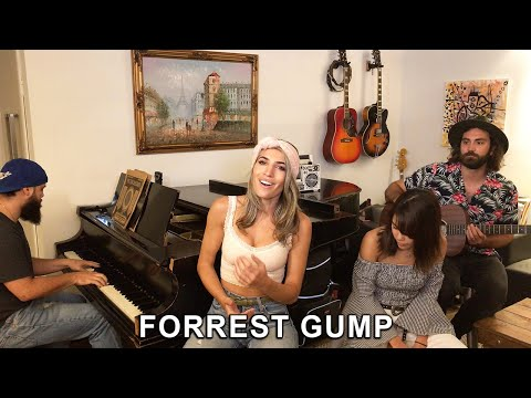 "Scruffy Pearls ""Forrest Gump""  