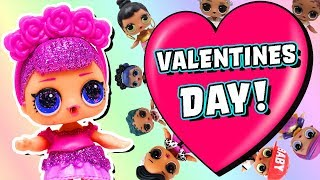 Video LOL Surprise Dolls Valentine's Day Games with Sugar Queen, Dollface, MC Swag, and Others! download MP3, 3GP, MP4, WEBM, AVI, FLV November 2018