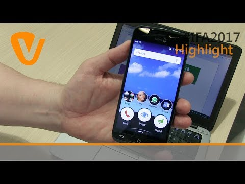 IFA 2017 live – Senioren-Handy Doro 8040 im Test (deutsch)