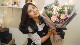 Download Lagu Cara Merangkai Bunga Buket / How to make a bouquet flowers? mp3