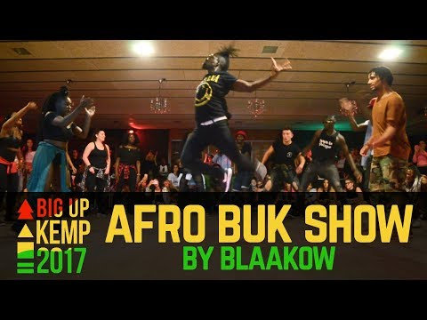 "BIG UP KEMP EUROPE 2017 - SHOW - ""AFRO B.U.K"""