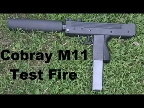 Cobray M11 Test Fire (Uncut)