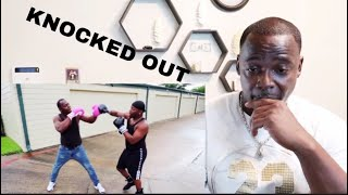 THE PRINCE FAMILY 1 VS 1 BOXING MATCH AGAINST MY 50 YEAR OLD DAD** LAST MAN STANDING**