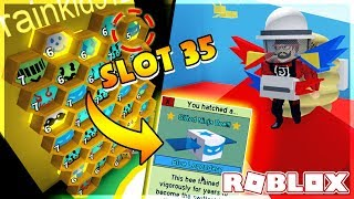 ROBLOX | BUY SLOT and OWNS 35 WED BEE BEE BEE GIFTED 6th | Bee Swarm Simulator