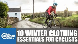 10 Winter clothing essentials every cyclist needs