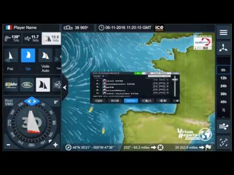 Vendée Globe : lancement du jeu Virtual Regatta 2016