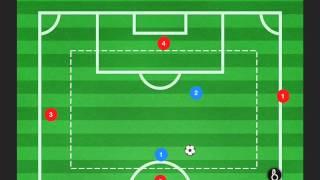 Baixar Xavi bravo soccer drill - 4 v 2 monkey game