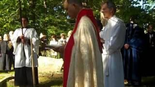 The Rev. Dr.Jack Gessell's Burial, Sewanee, TN