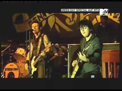 Green Day - East Jesus Nowhere Live @ Kesselhaus