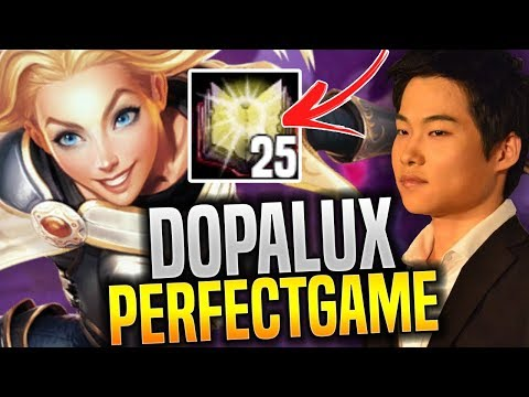 Dopa Perfect Game Lux with 25 Mejai's Stacks! - Dopa Plays Lux with New Runes! | Be Challenger