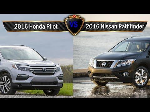 2017 nissan pathfinder doovi for Infiniti qx60 vs honda pilot