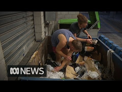 Would you eat from a dumpster?