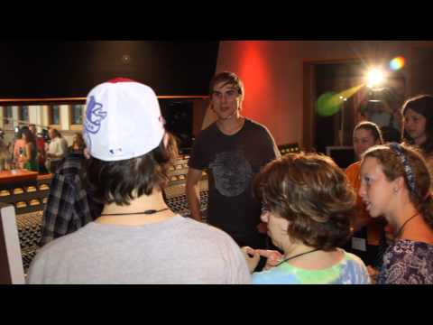 2013 ACM Lifting Lives Music Camp - Recording Session with Jake Owen