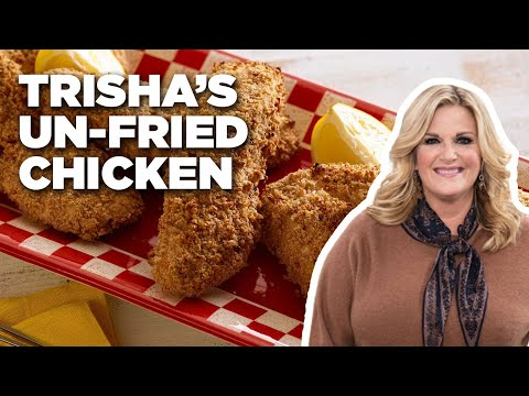 How To Make Trisha's Un-Fried Chicken   Food Network