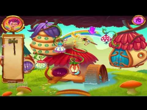 Играть В Волшебную Землю Спасательные Приключения Дети Игра Забавные Головоломки, Чистые И Исправле